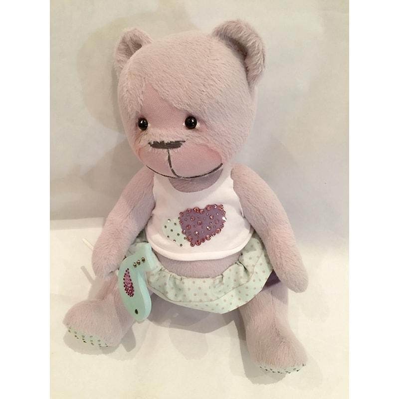 Авторская кукла handmade медвежонок Молли