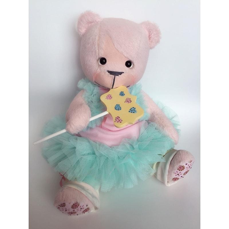 Коллекционная игрушка handmade Мишка Эльза