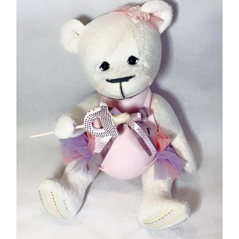 Нandmade кукла в подарок Мишка Амалия