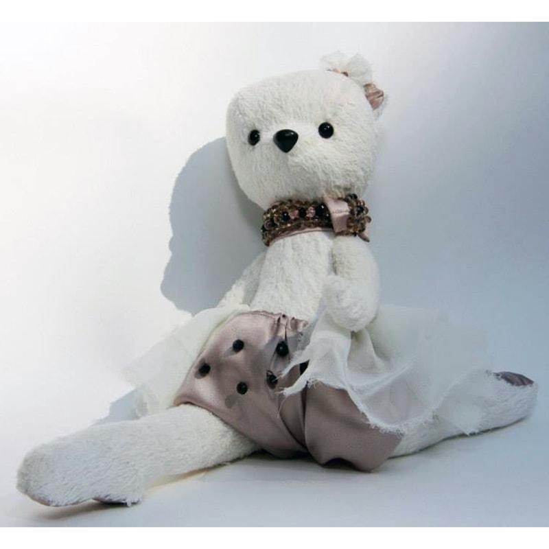 Лялька ручної роботи Ведмедик Сьюзі