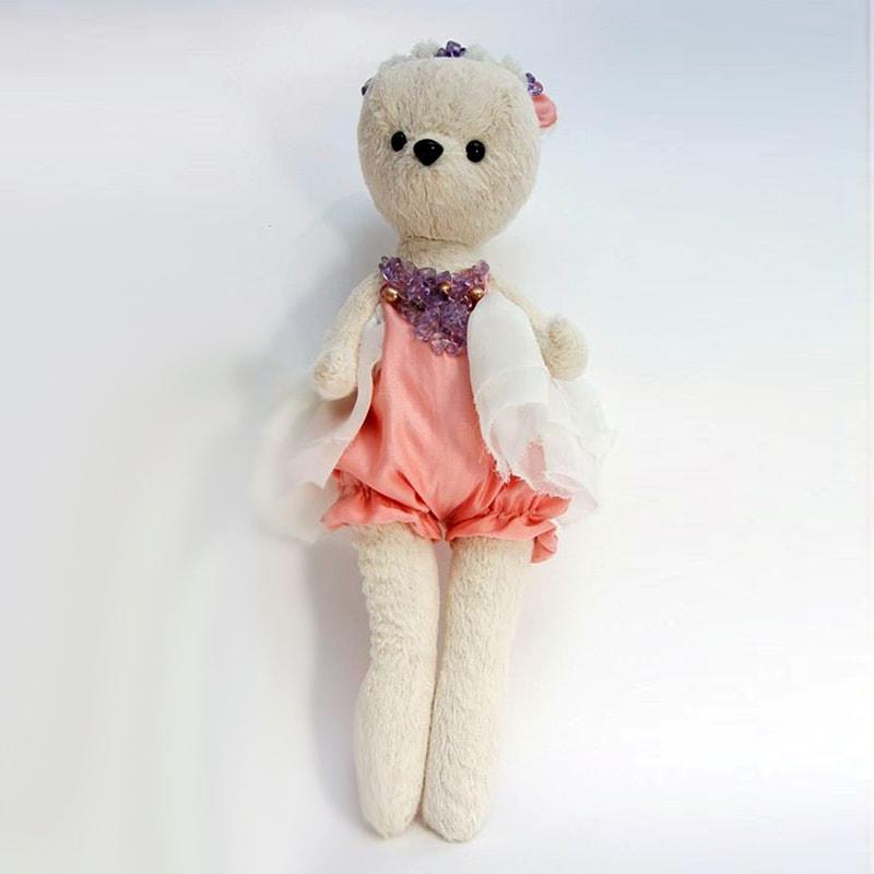 Кукла handmade в подарок Мишка Милена