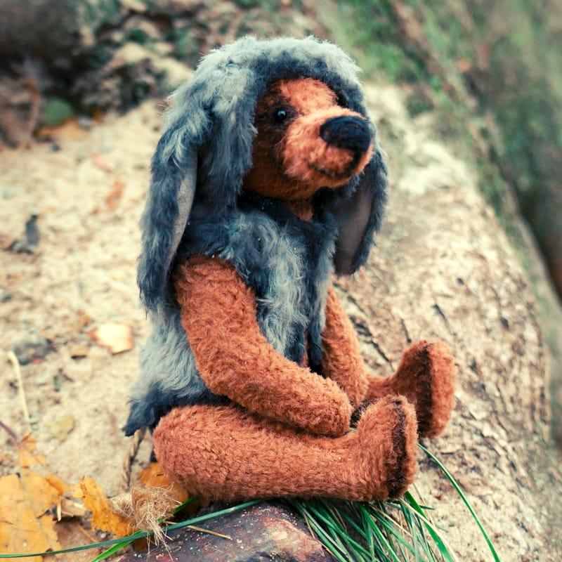 М'яка іграшка ведмедик Тедді в подарунок Горець