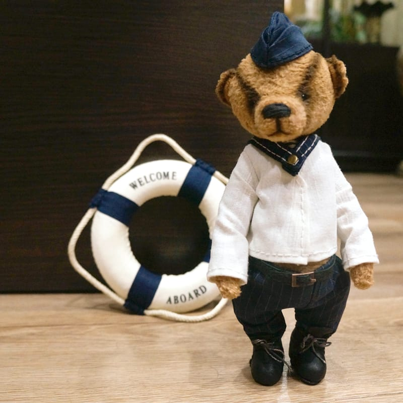 Авторський Ведмедик Тедді handmade Юнга