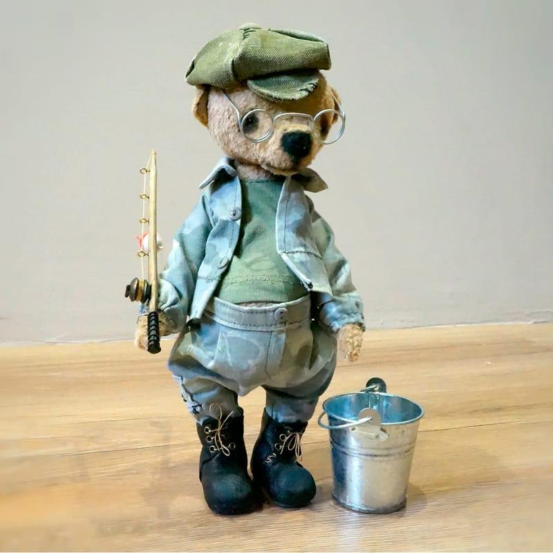 Мишка Тедди в подарок Рыбак