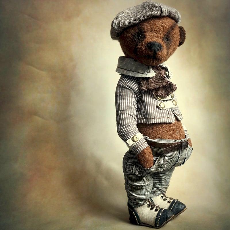 Дизайнерская кукла Мишка Тедди Денди