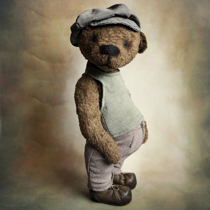Авторський Ведмедик Тедді в подарунок Британець