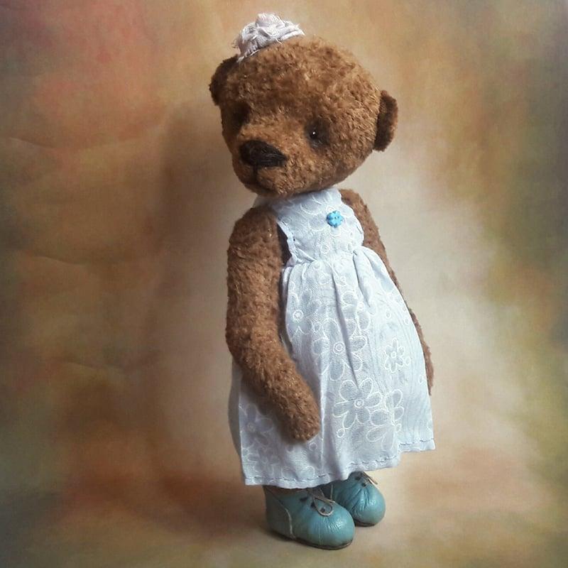 Авторська лялька Ведмедик Тедді в подарунок Міла