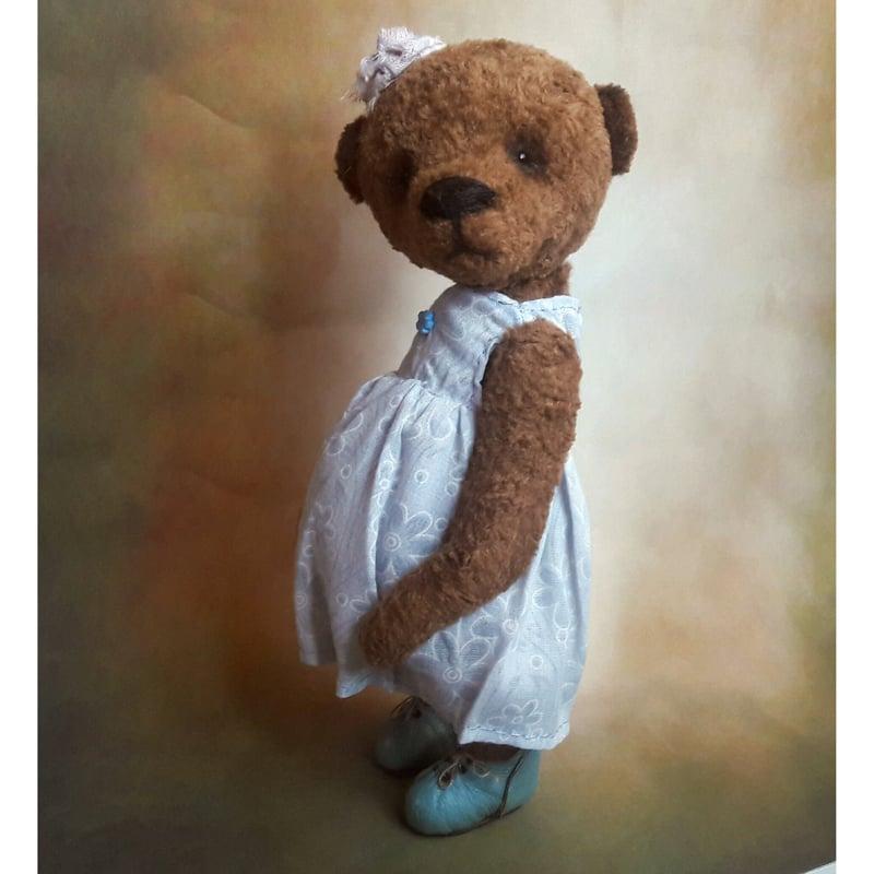 Авторская кукла Мишка Тедди в подарок Мила