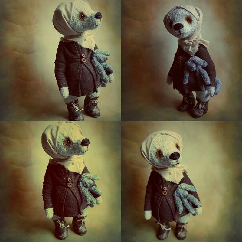 Коллекционная кукла в подарок Мишка Тедди Молли