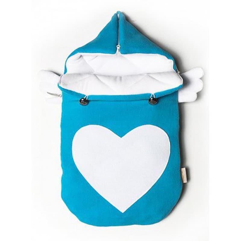 Конверт для новонародженого handmade Янголятко блакитний