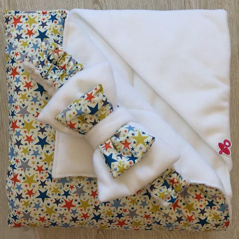 Конверт-одеяло новорожденного handmade Звездочка моя