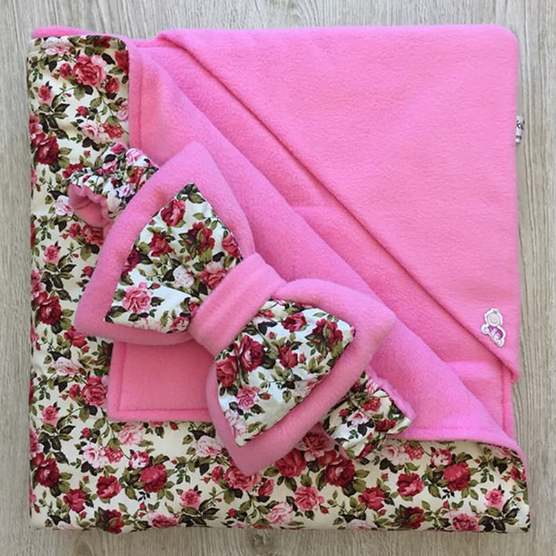 Конверт-одеяло новорожденного handmade Леди Шеби