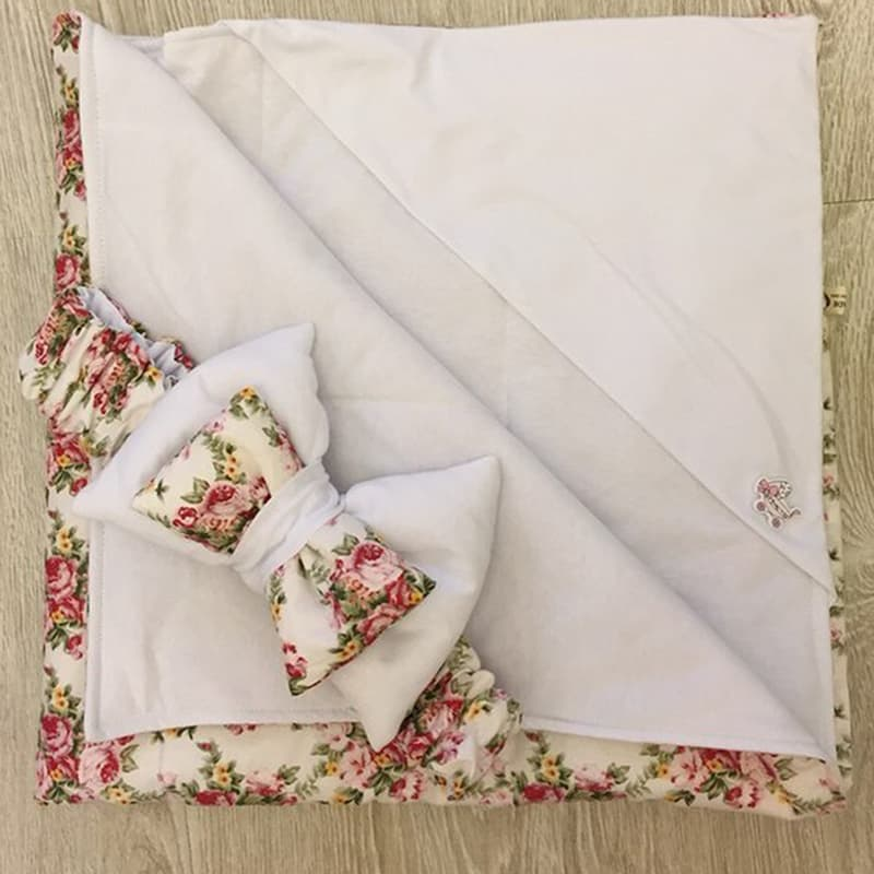 Конверт-одеяло новорожденного handmade Шеби-шик