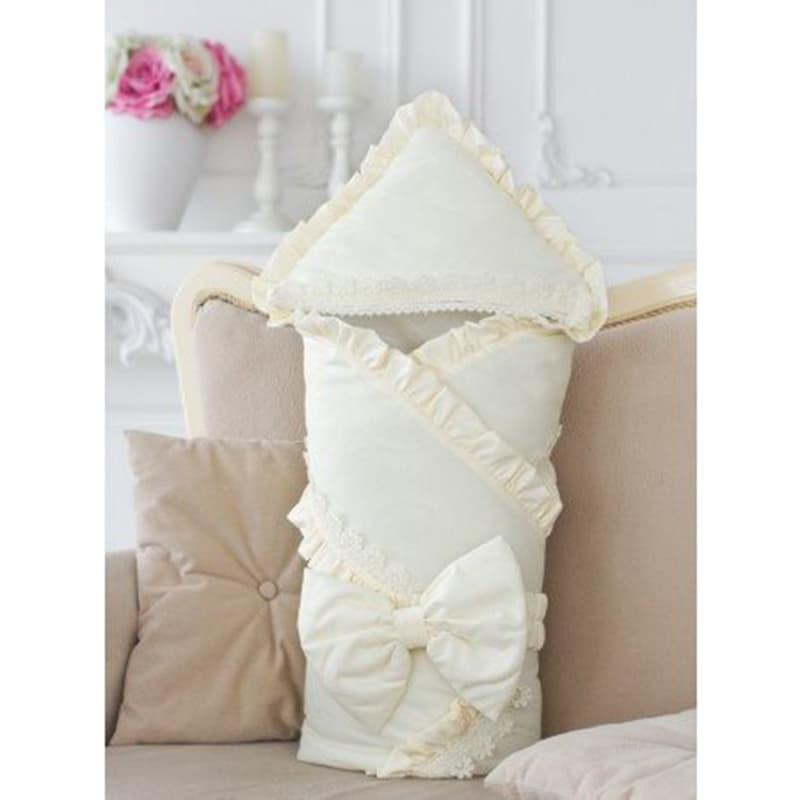 Конверт-одеяло на выписку Кремовый винтаж