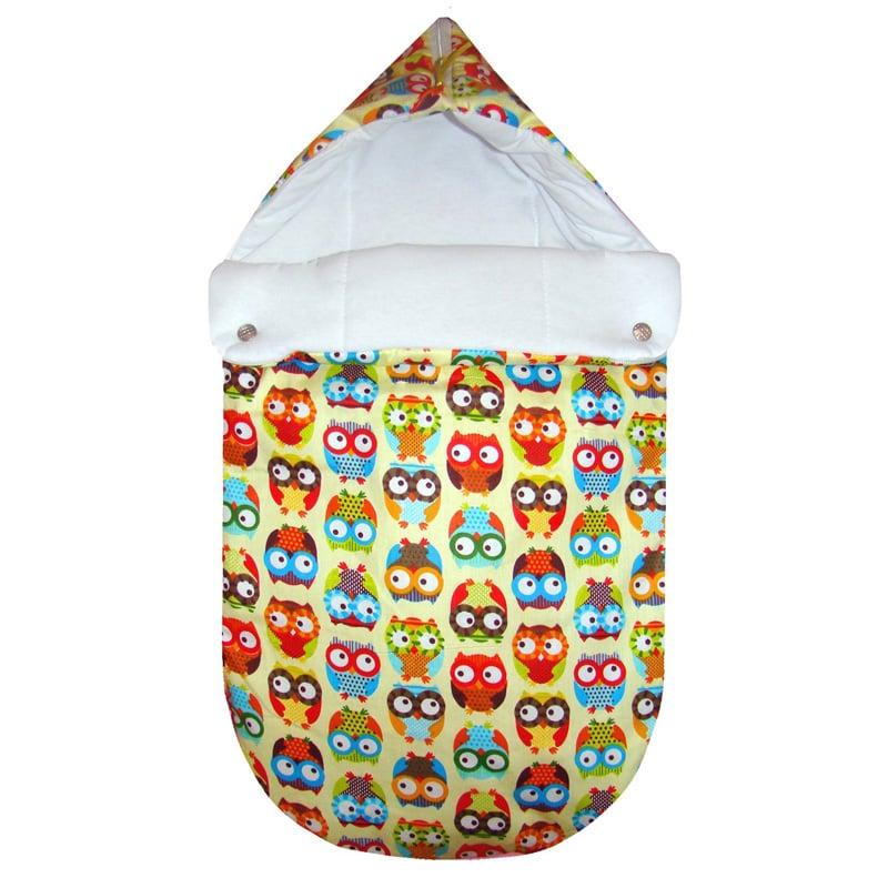 Зимний конверт для новорожденного handmade Сова