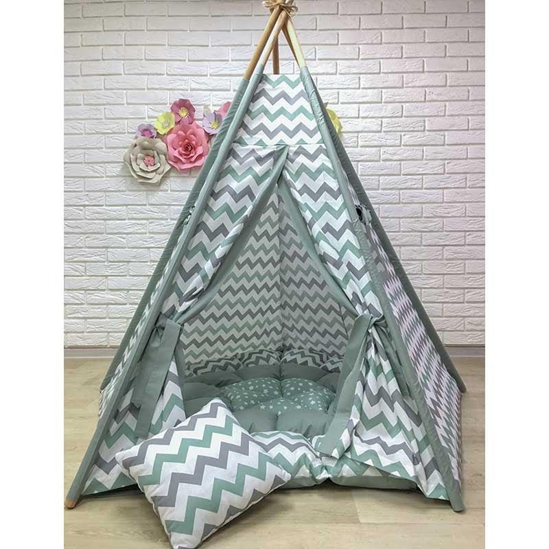 Палатка вигвам для мальчика Койот Ширики