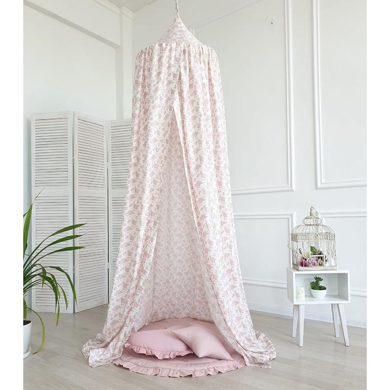 Намет Вaldachin French Rose pink satin