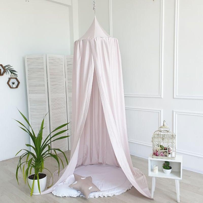 Палатка шатер Вaldachin Royal Rose pink satin