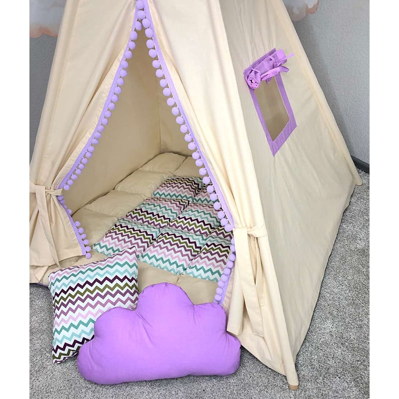 Детская палатка вигвам Владыка Воды. Комплект 5 в 1