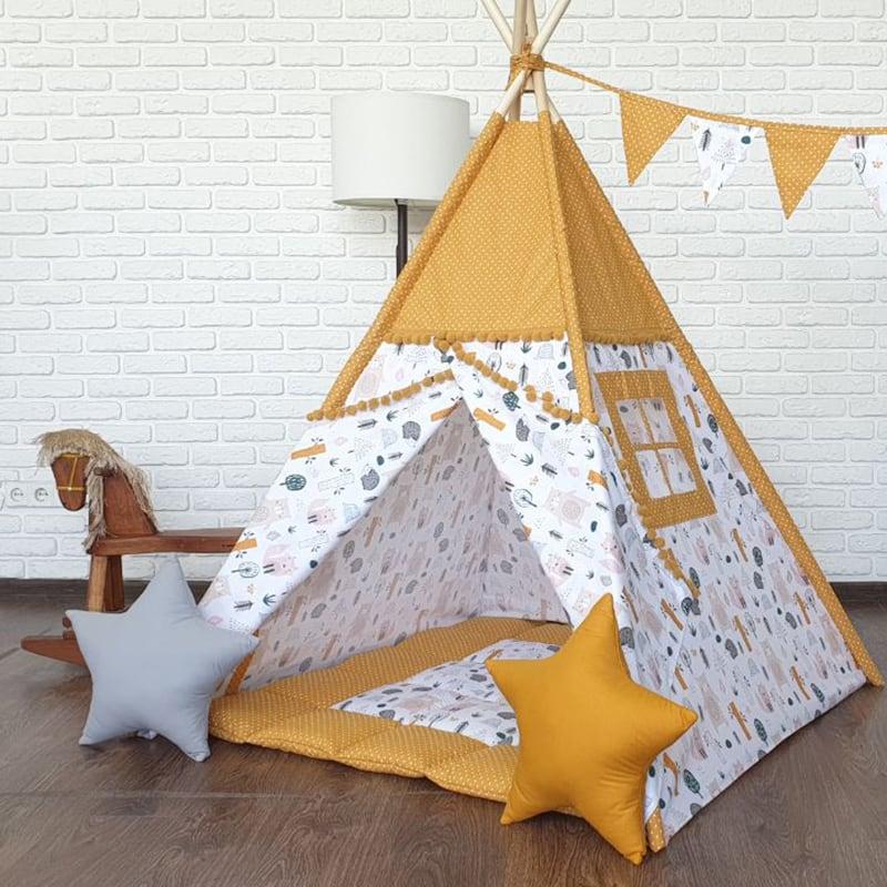 Детская палатка вигвам Медведь, Идущий в Тени