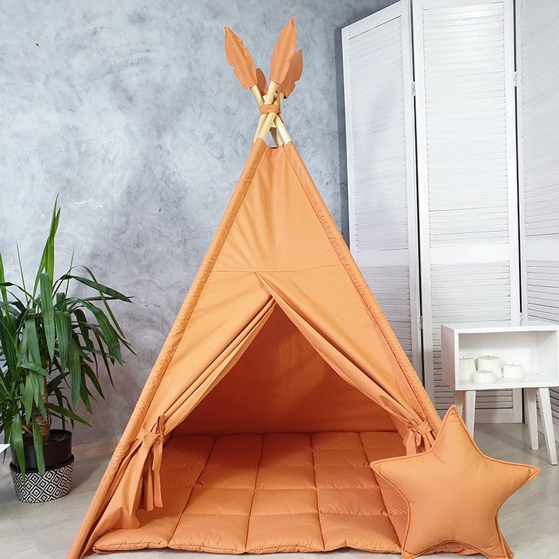Детская палатка вигвам Любит Персики