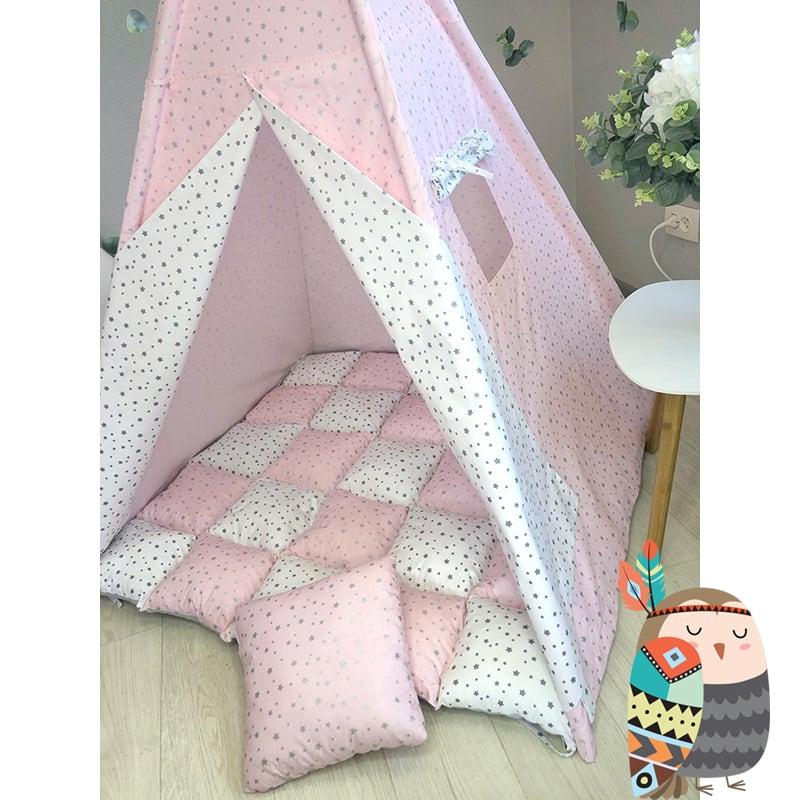 Детская палатка вигвам Чистое Облако. Комплект 5 в 1