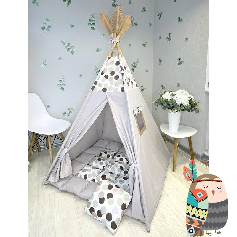 Детская палатка вигвам Серединная Земля
