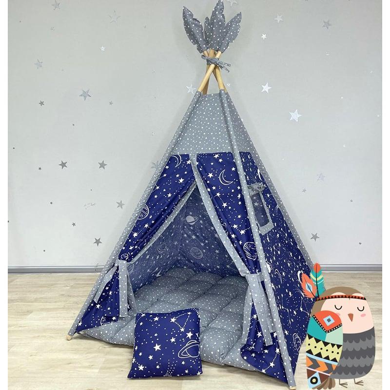 Детская палатка вигвам Охотится Ночью