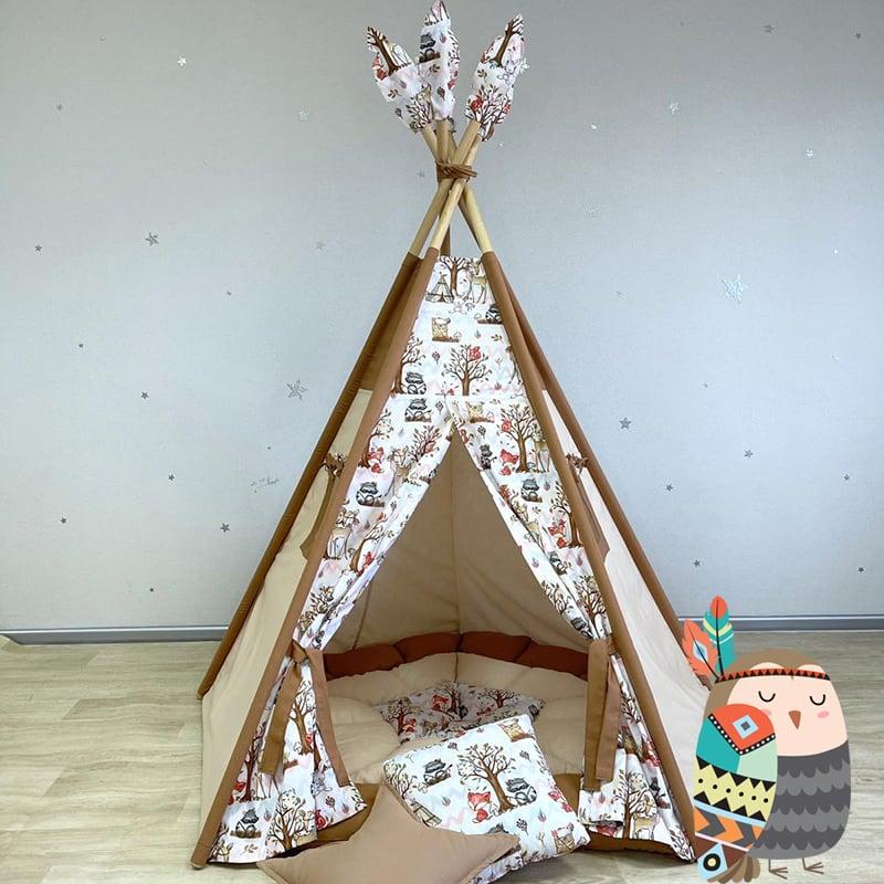 Вигвам палатка для детей Древо Жизни Сейба