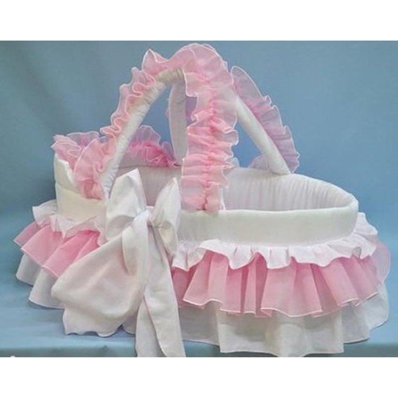Люлька-переноска для новорожденной девочки Красотка