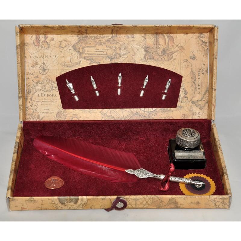 Ручка чернильная в подарок Dallaiti La Penna Bourgogne