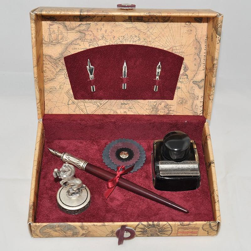 Дизайнерская ручка в подарок Dallaiti La Penna Bourgogne