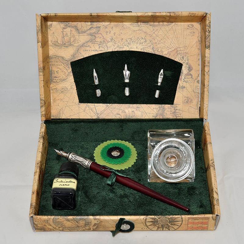 Чернильная ручка в подарок Dallaiti La Penna Bourgogne