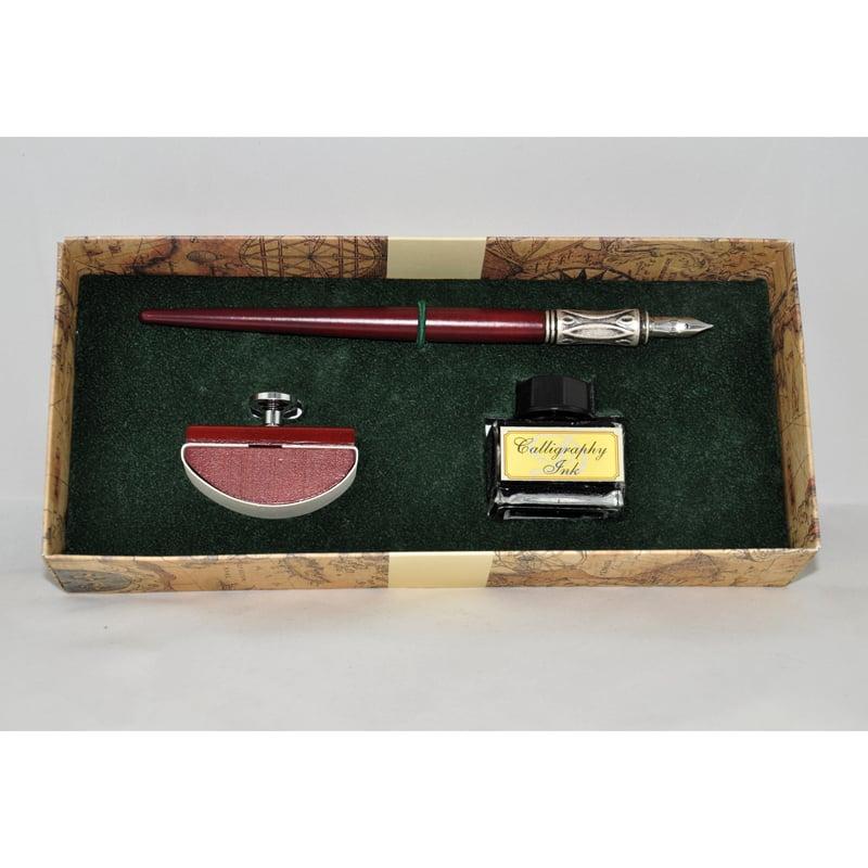 Ручка перьевая в подарок Dallaiti La Penna Bourgogne