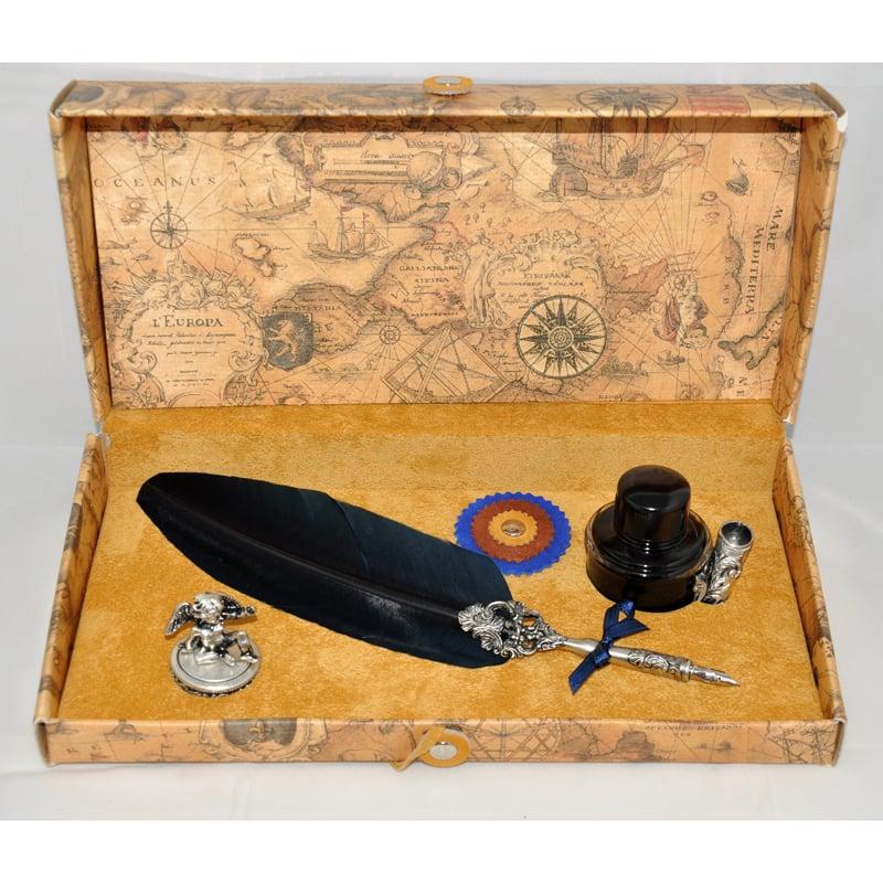 Авторская ручка чернильная в подарок Dallaiti La Penna Bourgogne