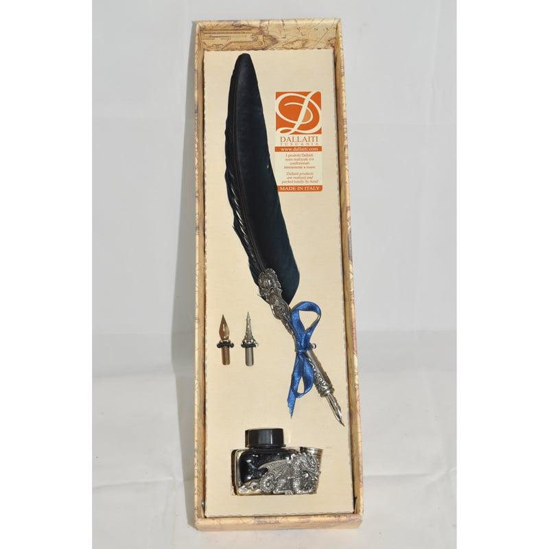 Брендовая перьевая ручка в подарок Dallaiti La Penna Bourgogne