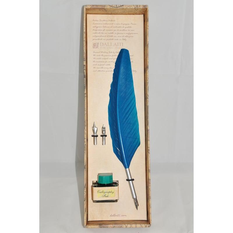 Перьевая ручка в наборе Dallaiti La Penna Bourgogne