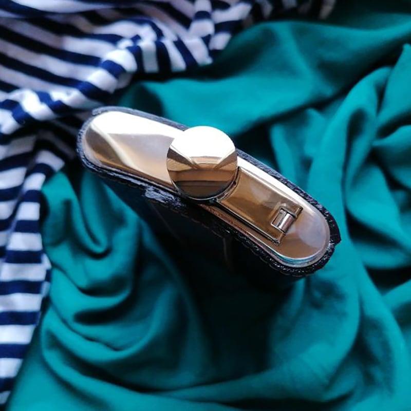 Шкіряна фляга Морський Вовк brown leather