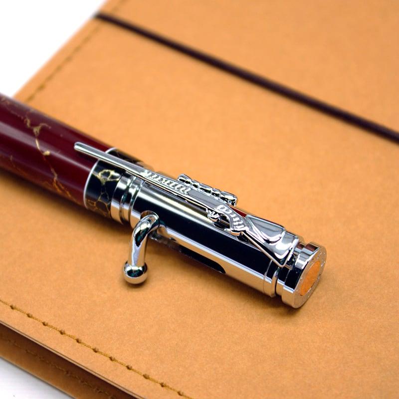 Кулькова ручка Patron Red Marble