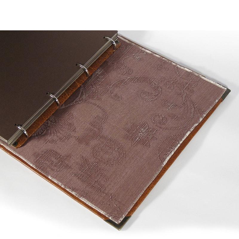 Кожаный семейный фотоальбом Family Manuscript Red leather