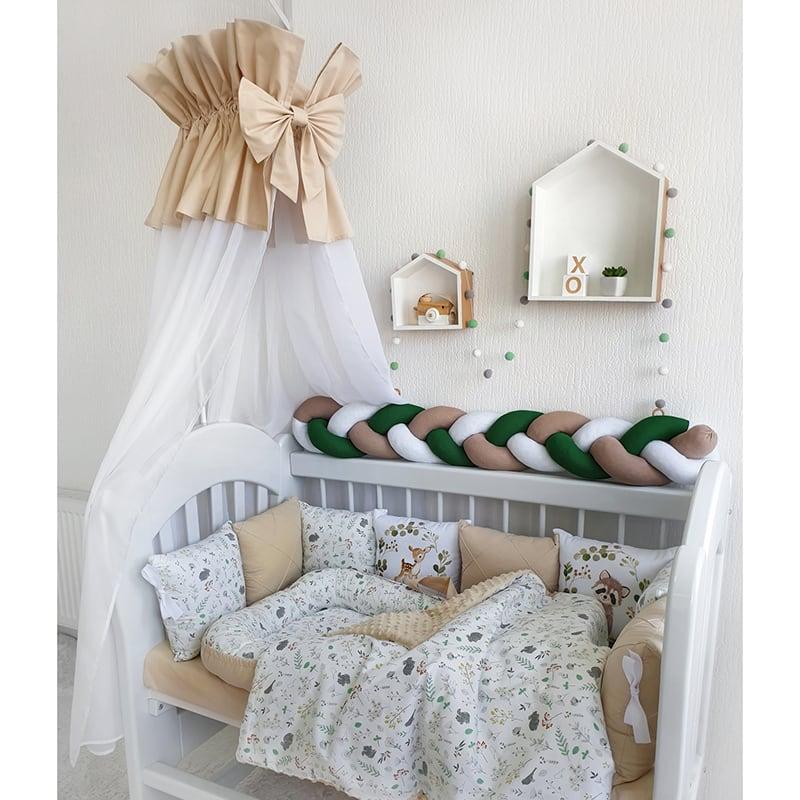 Бортики в кроватку для новорожденных Бэмби