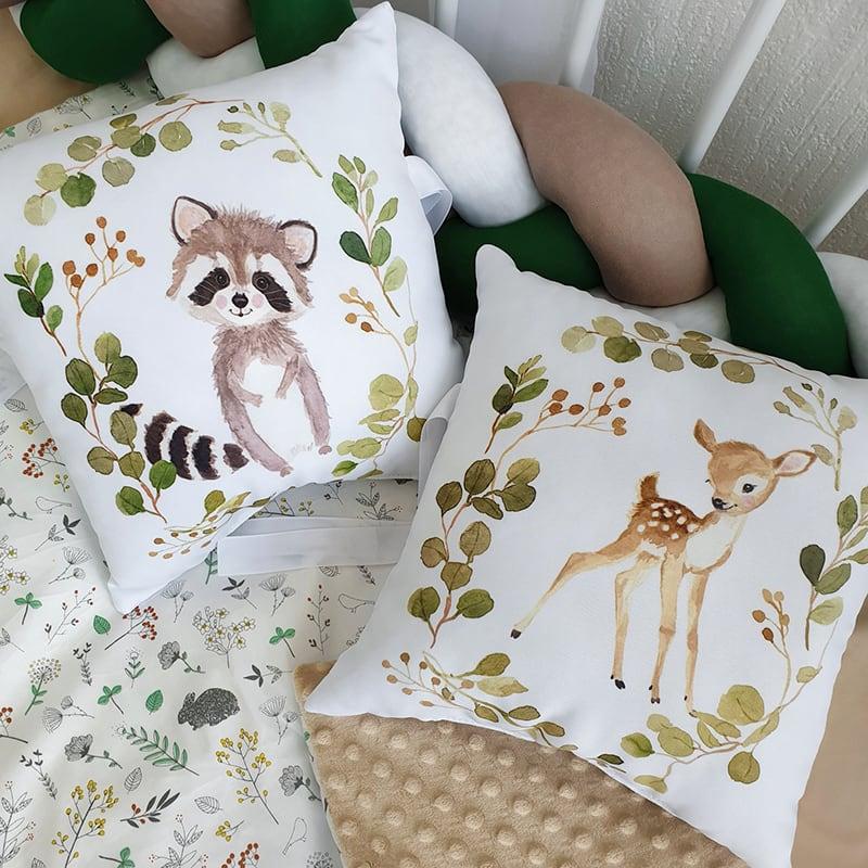 Бортики в ліжечко для новонароджених Бембі