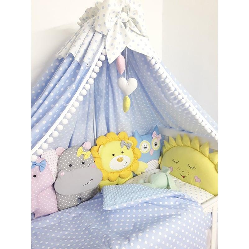 Бортики в кроватку Зверушки Игрушки