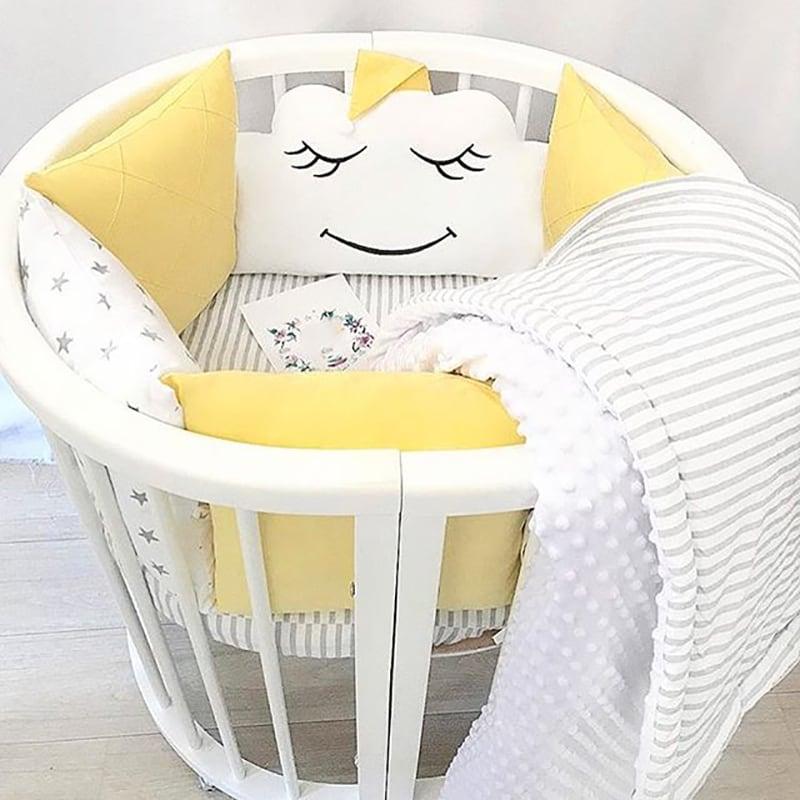 Бамперы подушки в кроватку Солнечная Тучка