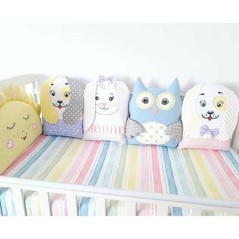Бампери подушки в ліжечко Казка для Друзів