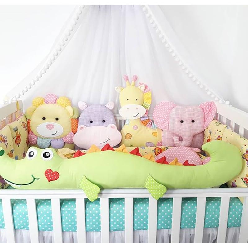 Бортики в ліжечко Африканське Сафарі