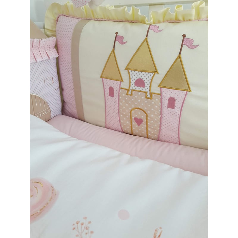 Бортики в кроватку новорожденной девочке Сказочная Принцесса
