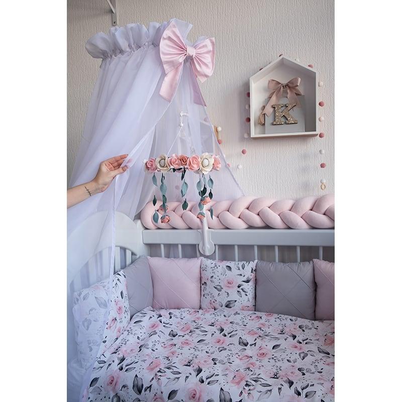 Бортики в ліжечко новонародженим Принцеса Бебі Шик