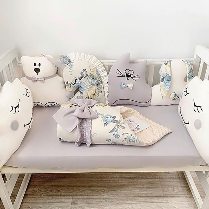 Бортики в ліжечко Бебі-Шік