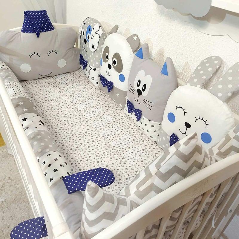 Захисний бортик для ліжка Snow Tale